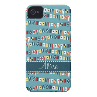 Nautical Flags iPhone 4 Case-Mate Case