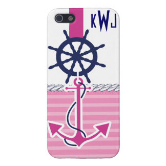 Nautical Girl iPhone 5/5S Cases