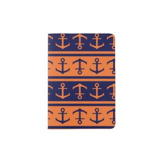 Nautical Halloween pattern Passport Holder