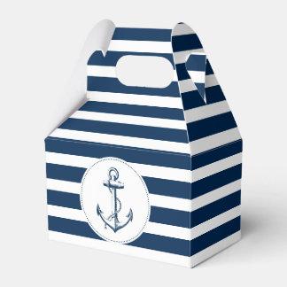 Nautical ı party box wedding favour box
