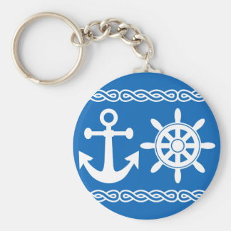 Nautical key chain