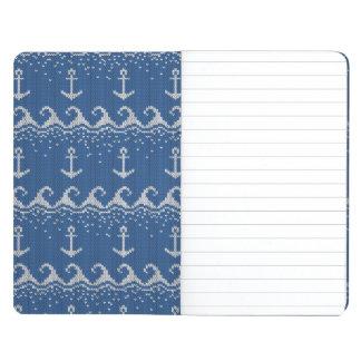 Nautical Knit Pattern Journal