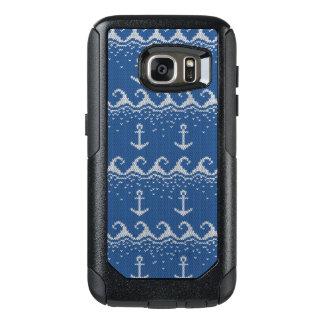 Nautical Knit Pattern OtterBox Samsung Galaxy S7 Case