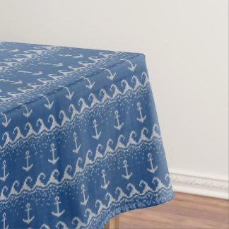 Nautical Knit Pattern Tablecloth