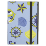 Nautical Life (Blue Background) iPad Air Cases