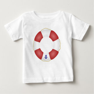 Nautical Life preserver Baby T-Shirt