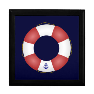 Nautical Life preserver Gift Box