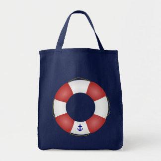 Nautical Life preserver Tote Bag