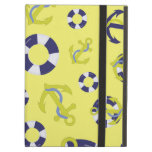 Nautical Life - Yellow Background Case For iPad Air