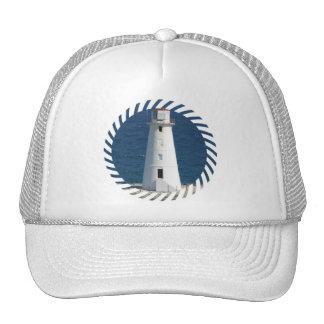 Nautical Lighthouse Baseball Hat