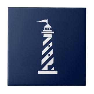 Nautical Lighthouse Ceramic Tile