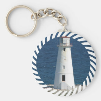 Nautical Lighthouse Keychain