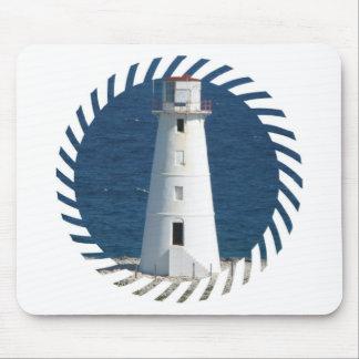 Nautical Lighthouse Mouse Pad
