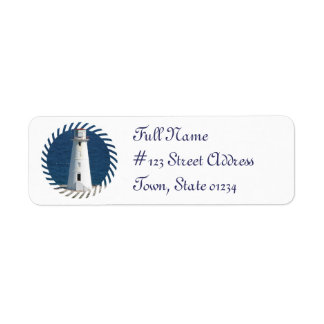 Nautical LIghthouse Return Addres Label Return Address Label
