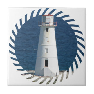 Nautical Lighthouse  Tile