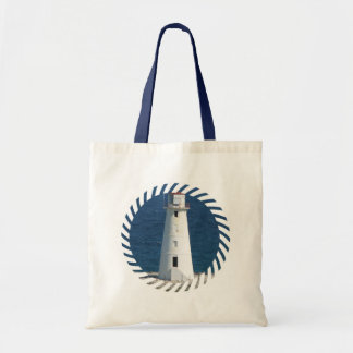 Nautical Lighthouse Tote Bag