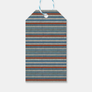 Nautical Linen Stripe Gift Tags