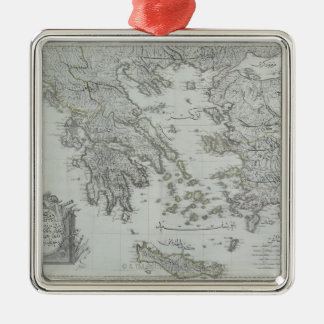 Nautical Map Christmas Ornament