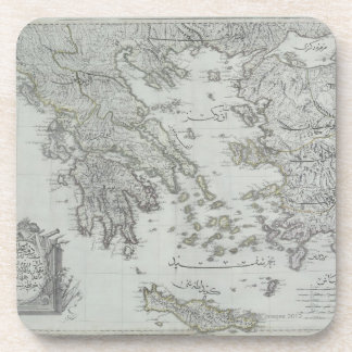 Nautical Map Coaster