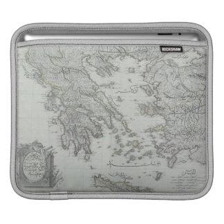 Nautical Map iPad Sleeve