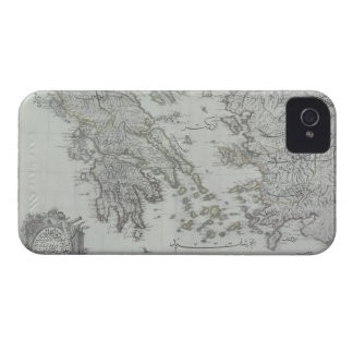Nautical Map iPhone 4 Cover