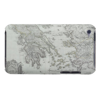 Nautical Map iPod Touch Cases