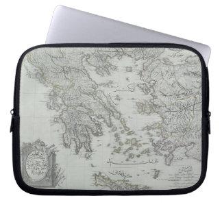 Nautical Map Laptop Sleeves