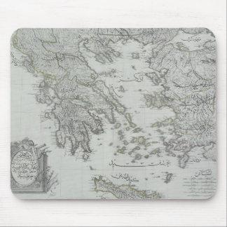 Nautical Map Mouse Mat