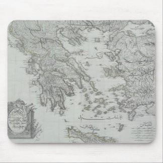 Nautical Map Mouse Pad