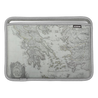 Nautical Map Sleeve For MacBook Air