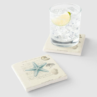 Nautical Mile Stone Beverage Coaster