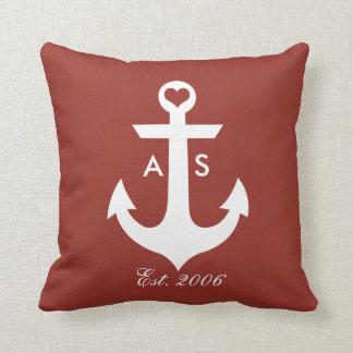 Nautical Monogram Pillow