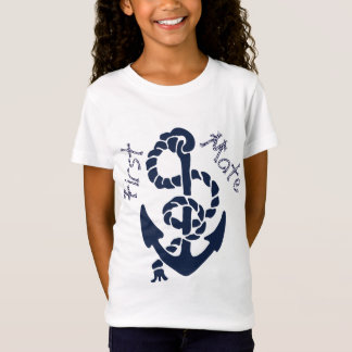 Nautical Navy Anchor Pattern T-Shirt