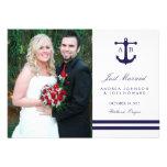 Nautical Navy Wedding Announcements