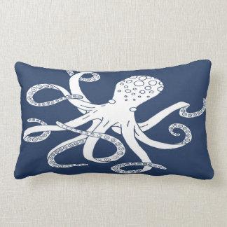 Nautical Octopus Lumbar Pillow