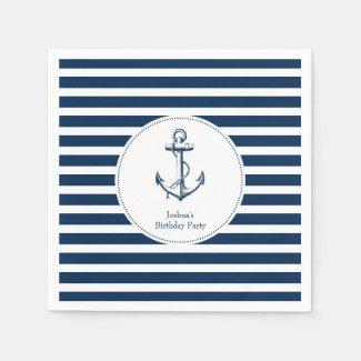 Nautical Party Napkins