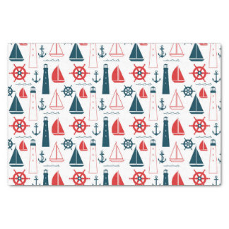 Nautical Patriot Tissue Paper