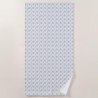 Nautical Pattern Beach Towel