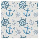 Nautical pattern fabric
