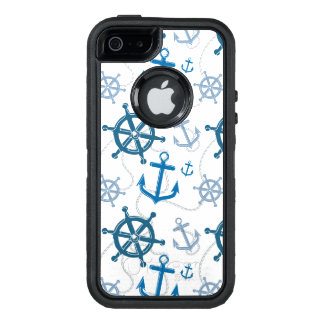 Nautical pattern OtterBox defender iPhone case