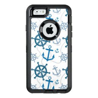 Nautical pattern OtterBox iPhone 6/6s case
