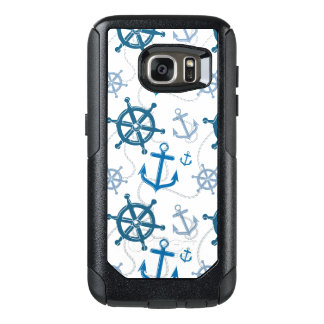Nautical pattern OtterBox samsung galaxy s7 case