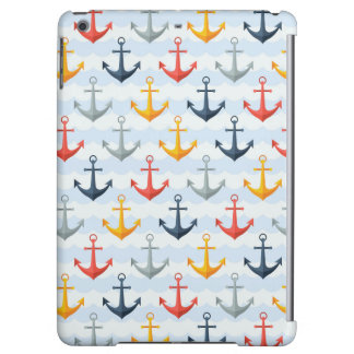 Nautical Pattern with Anchors