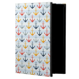 Nautical Pattern with Anchors Case For iPad Air