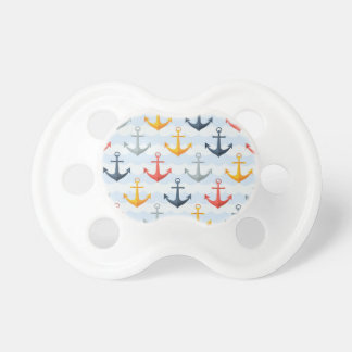 Nautical Pattern with Anchors Dummy