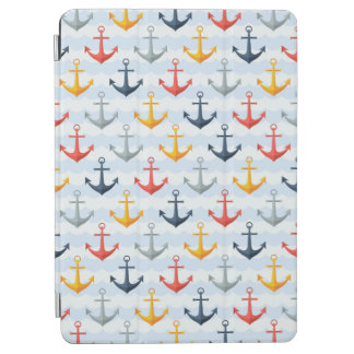 Nautical Pattern with Anchors iPad Air Cover