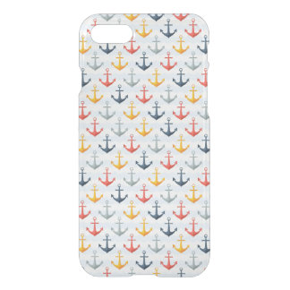 Nautical Pattern with Anchors iPhone 8/7 Case