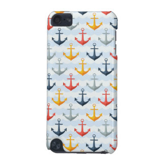 Nautical Pattern with Anchors iPod Touch (5th Generation) Case