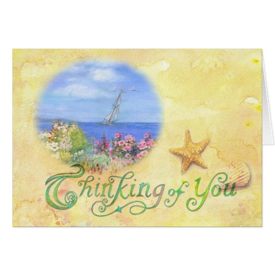 nautical perfect day gorgeous art card