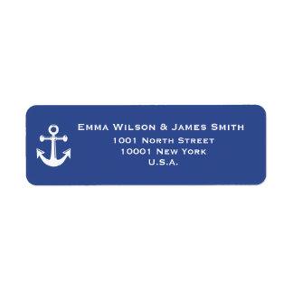 Nautical Personalized Return Address Labels